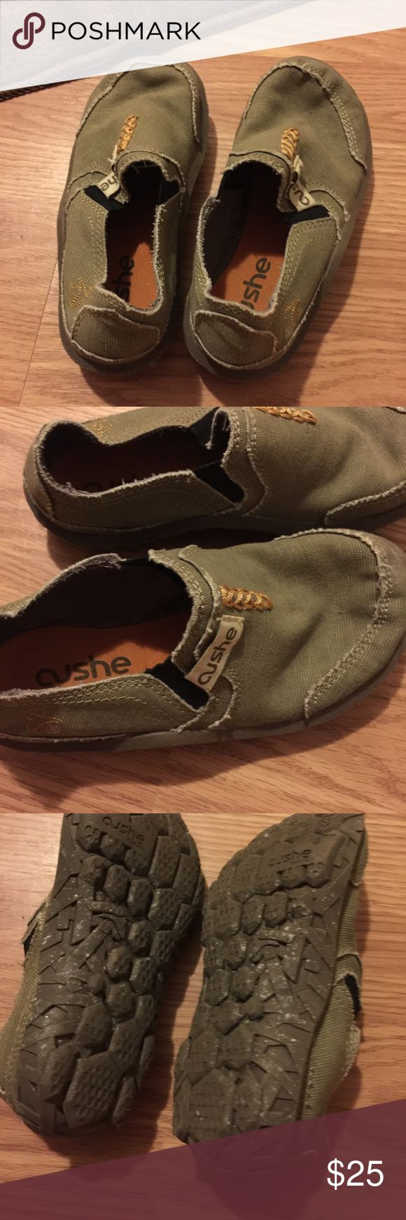 Little boys Cushe Shoes Cushe shoes size 11/12 only worn once. Paid $50, asking $25. Cushe Shoes Flats & Loafers