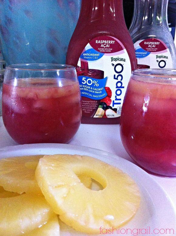 Raspberry Acai Drinks add vodka yummy