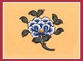 Lotus Flower  The lotus flower symbolises the complete purification of the defilements of the body, speech and mind, and the full blossoming of wholesome deeds in blissful liberation.