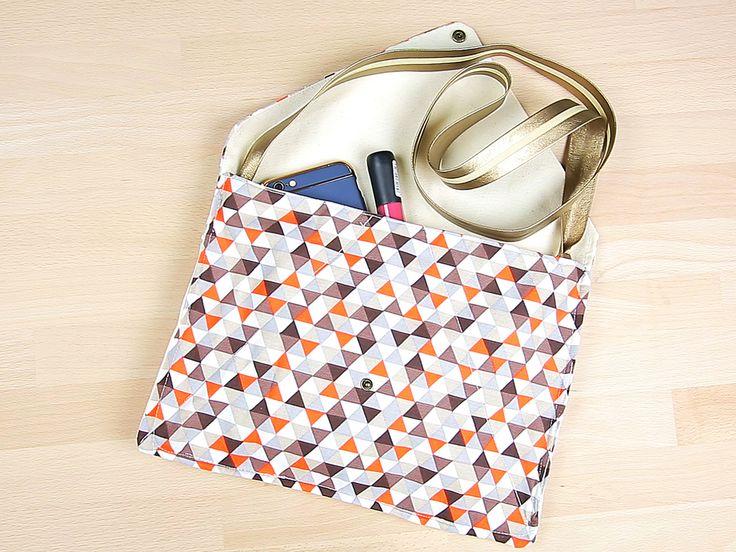 Je crée mon sac à main enveloppe
