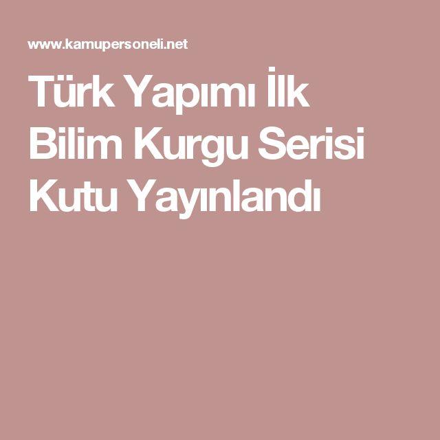 Türk Yapımı İlk Bilim Kurgu Serisi Kutu Yayınlandı
