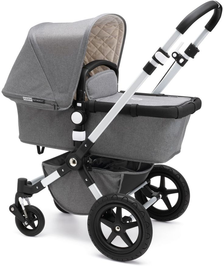 Bugaboo Cameleon 3 Classic Collection Grey Melange mit Liegewanne - Kleine Fabriek Berlin