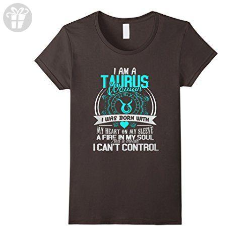 Womens TAURUS T-SHIRT - TAURUS BIRTHDAY ZODIAC XL Asphalt - Birthday shirts (*Amazon Partner-Link)