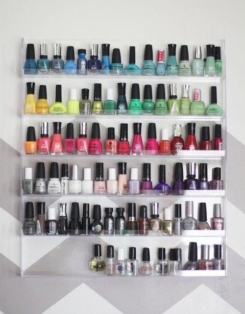 color organization....my OCD at it's finest :-)