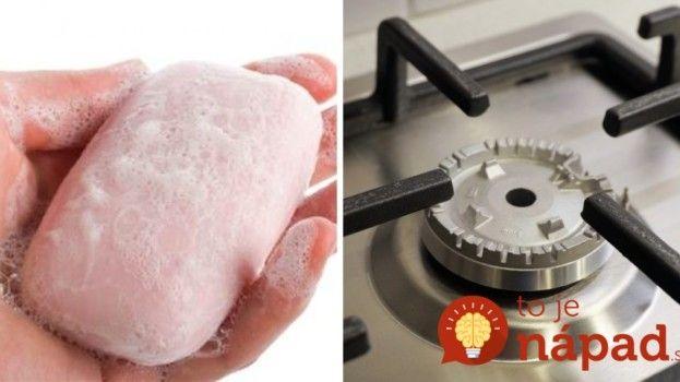 Vedeli ste, že obyčajné mydlo vám pomôže zistiť, či vám v byte uniká plyn? A dokáže omnoho viac!