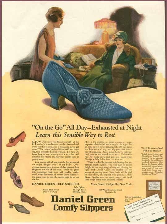 137 best Vintage Slippers images on Pinterest