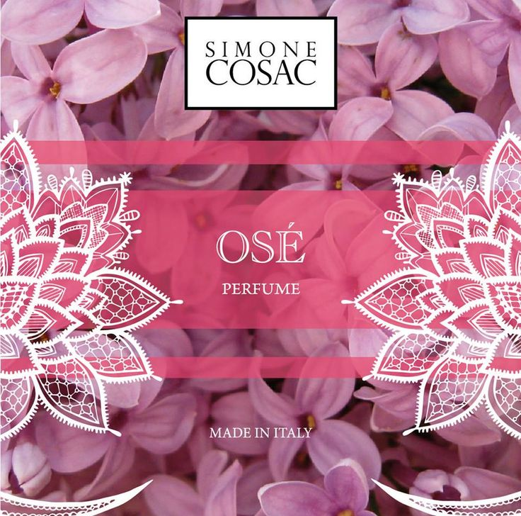OSÉ one of the new Perfumes of Simone Cosac.