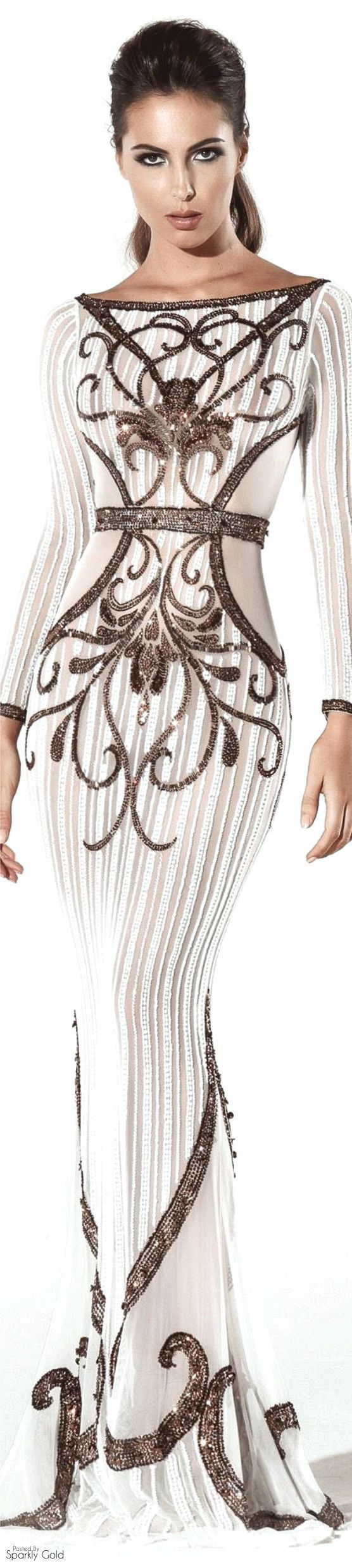 Charbel Zoé Spring 2016 Couture...