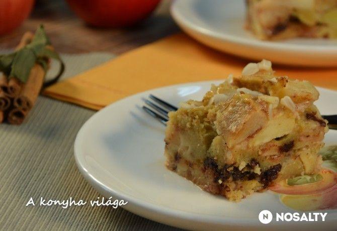 Francia almás kocka
