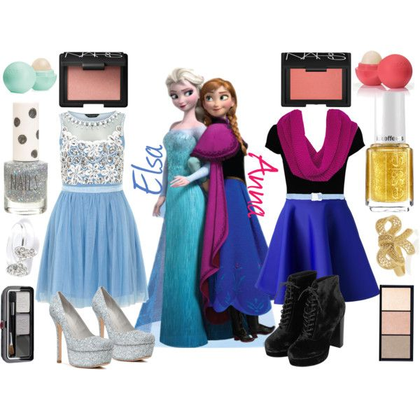 """Do You Want To Build A Snowman?"" Frozen Elsa Anna Disneybound"
