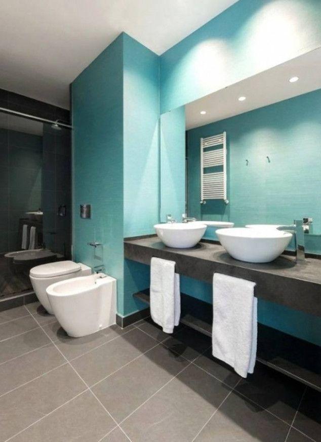 sieben zweifel die sie über badezimmer deko dunkelblau