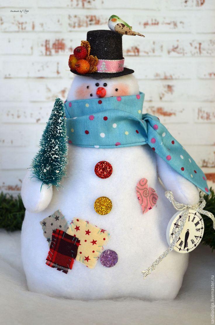 Купить ТИльда снеговички - комбинированный, снеговик, снеговичок, снеговики, снеговички, снеговик в подарок, снеговик тильда