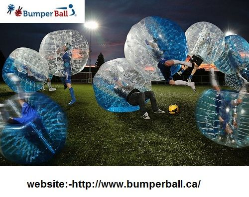 bumperball.ca is offring Bumper Balls at competitive price in Calgary and Lethbridge. Entertain yourself with Bumper Ball Soccer or Bubble Ball Soccer games. http://www.bumperball.ca/