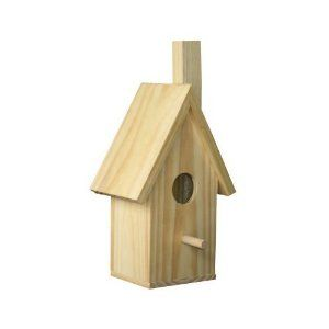 Chimeny Wood Bird House Kit by Brandine. $4.99. Kit Includes: Wood Parts and Kid Friendly Instructions. Wood: Pine. Assembly Require. Kit Includes: Wood Parts and Kid Friendly Instructions