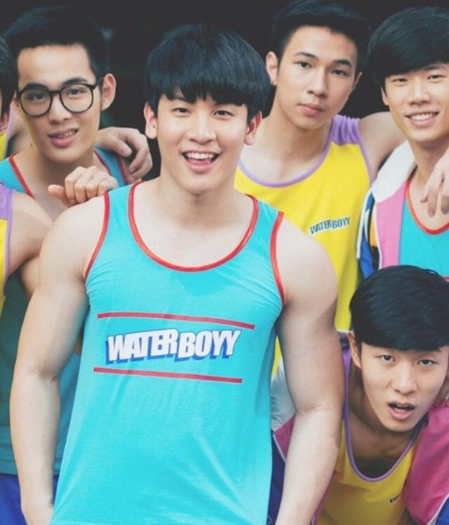 Water boyy in Attitude Magazine Thailand October 2015