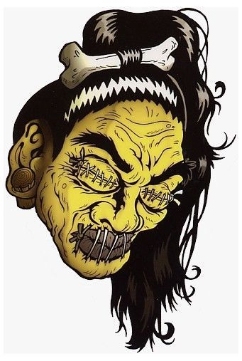 25 best ideas about shrunken head tattoo on pinterest shrunken head skull art and skull drawings. Black Bedroom Furniture Sets. Home Design Ideas