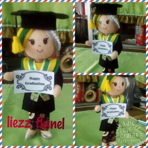 Hijab graduation doll