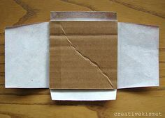 sticky note holder: wrap