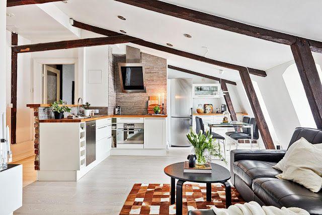 Jurnal de design interior: Design interior scandinav într-o mansardă de 71 m²