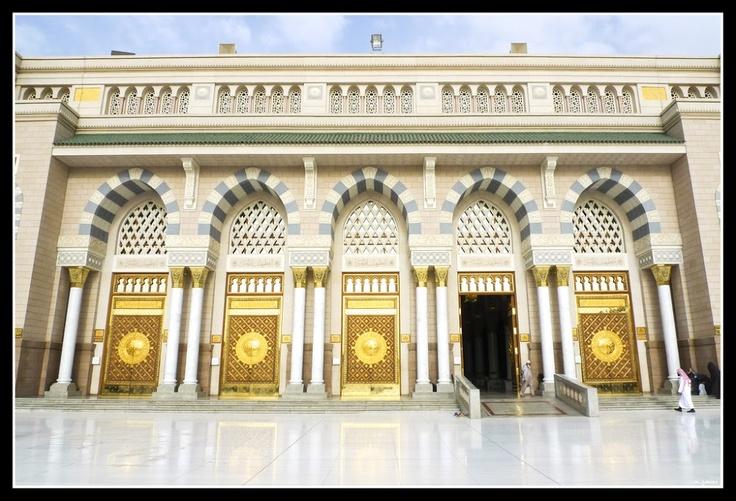 Masjid Nabawi entrances