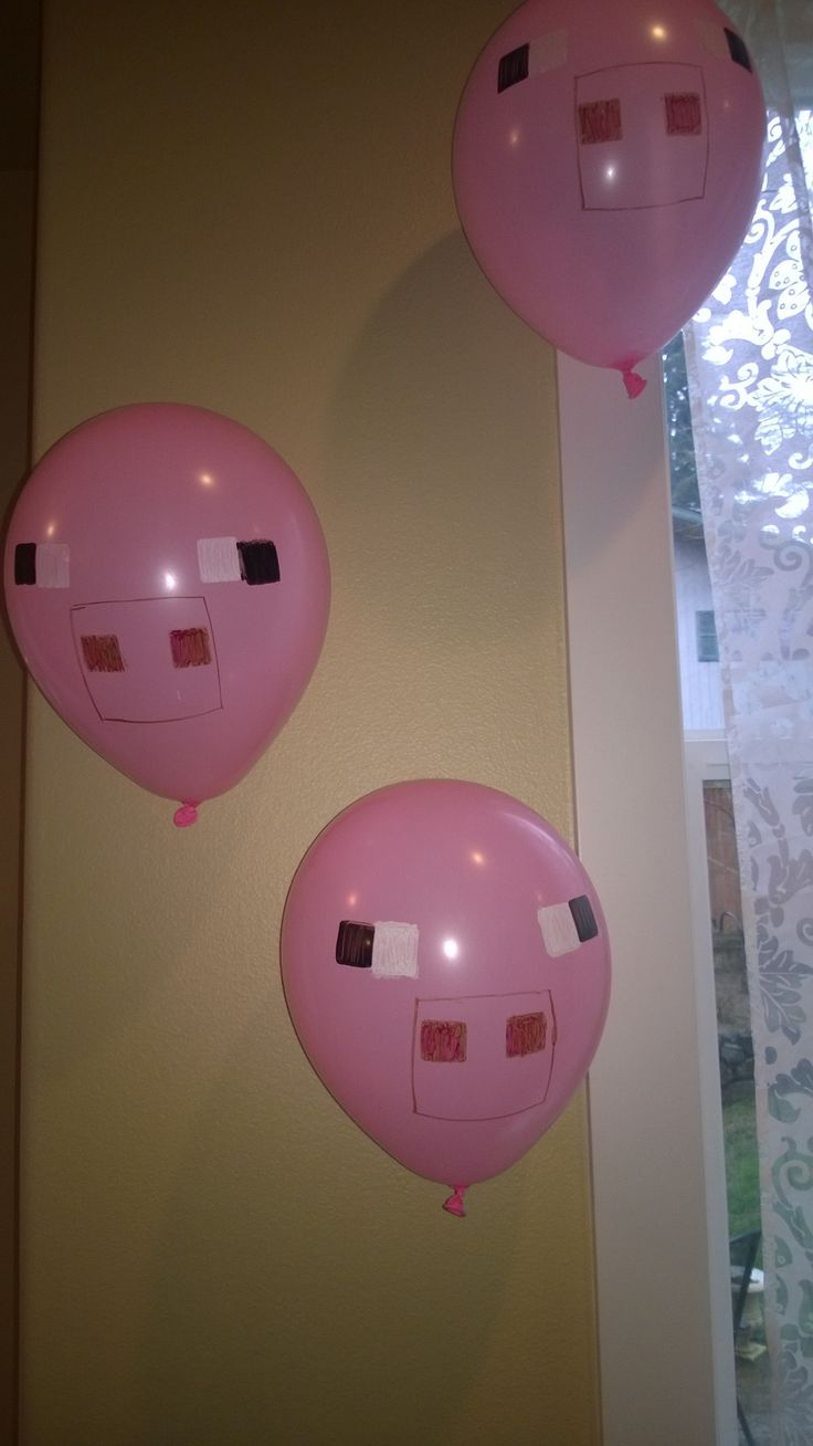 Minecraft decorations - Pigs
