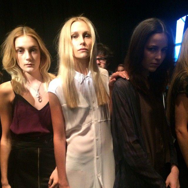 NZ Fashion Weekend | Curtain-call before the catwalk.