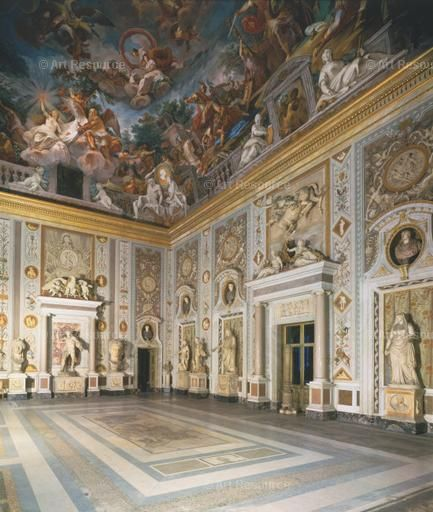 Italian baroque interiors baroque interior for Italian baroque architecture