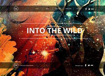 HTML Homepage Vorlage für Maler & Illustrator   WIX