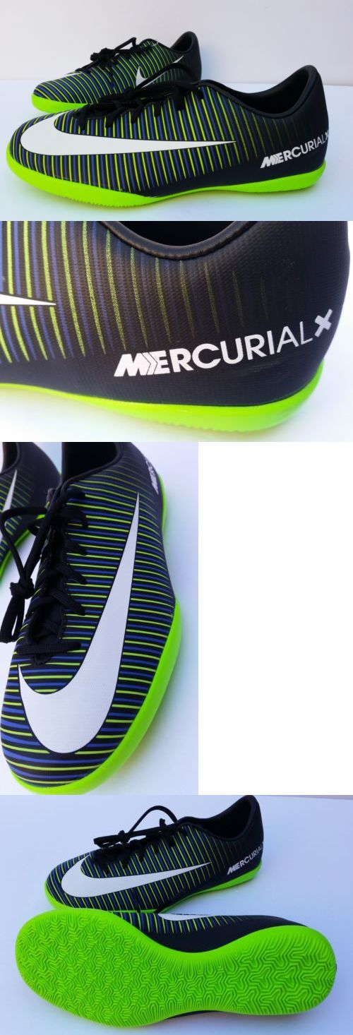 Youth 159177: Nike Mercurial X Victory Xi Ic Indoor Soccer Shoes Black Green Kids Youth 5Y New -> BUY IT NOW ONLY: $59.99 on eBay!