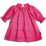 SMOCKED DOT & BLOOM DRESS (CHILD)