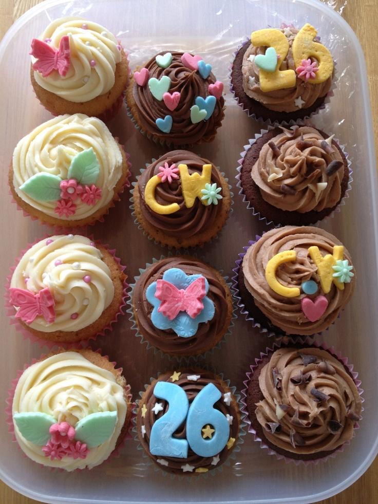 Charlotte's Birthday Cupcakes