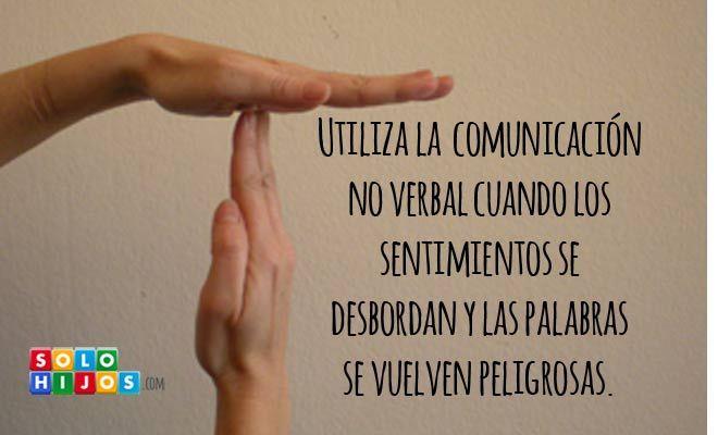 Utiliza la comunicación no verbal para no herir