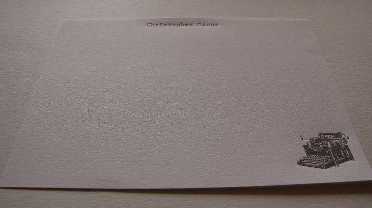 #letterpress #stationery #papergoods