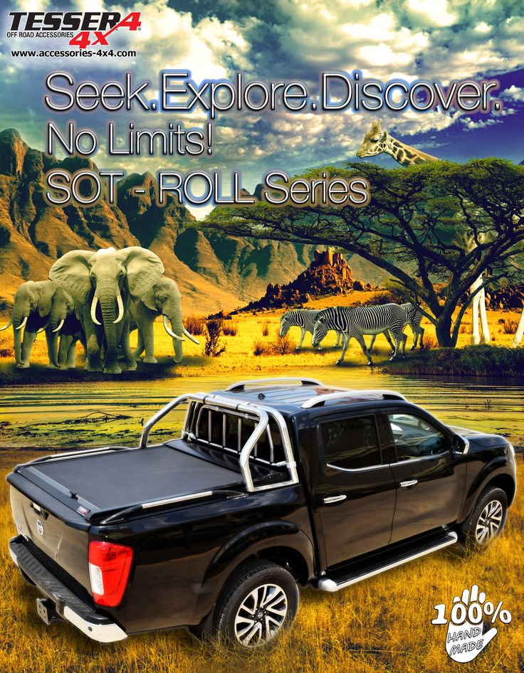 #Nissan #NP300 #D23 #Navara 2016+ #aluminum #roller #lid #shutter #sotroll #series for #doublecab & #spacecab by #tessera4x4 #accessories #explore #discover #sport #attitude #safari #nolimits.