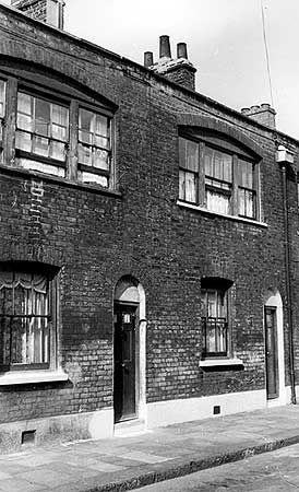 20 Seabright Street, Bethnal Green, 1956