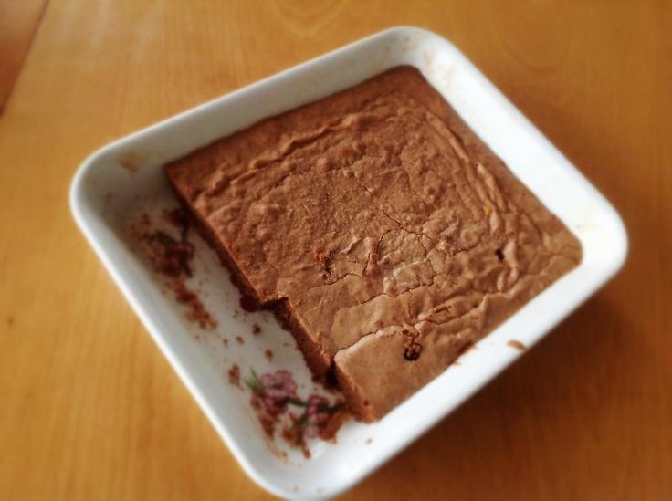 Brownie de chocolate. Riquísimo!