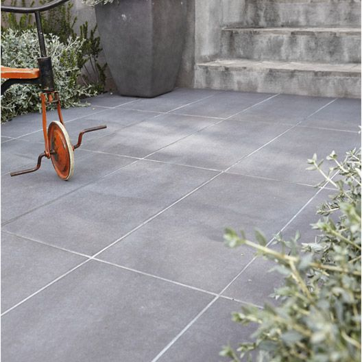 10 images about terrasse carrelage on pinterest zen for Rehausse beton 50x50 castorama