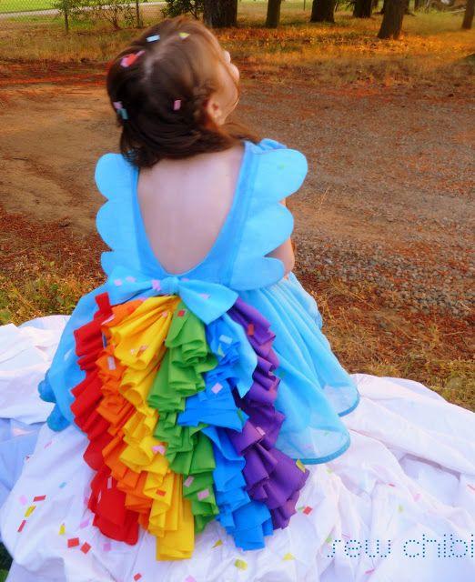 Sew Chibi, Rainbow Dash Inspired Dress Tutorial... - The Sewing Rabbit