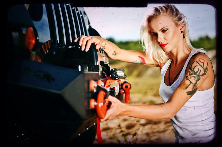 Jeep Wrangler Girl.