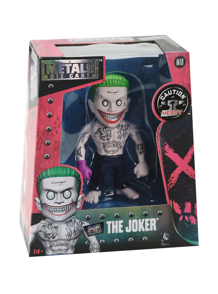 DC Comics Suicide Squad The Joker Die-Cast Metal Figure | Hot Topic