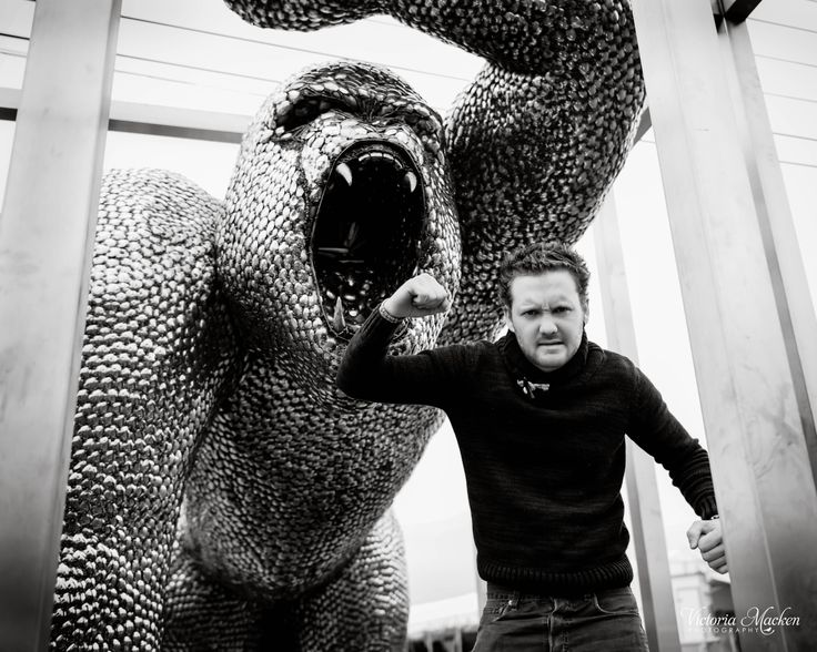 Alfie Bradley - designer and fabricator of the famous 'spoon gorilla' #ShropshireEngland