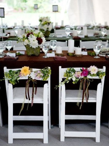 139 best wedding chairs decor ideas images on pinterest wedding flower chair decor for wedding junglespirit Gallery