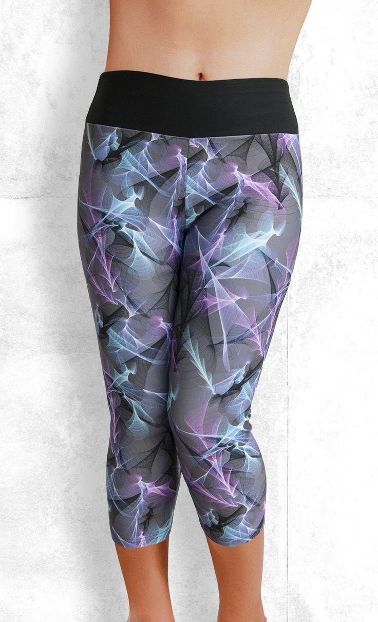 Capri Leggings - Plasma - Funtastic Activewear