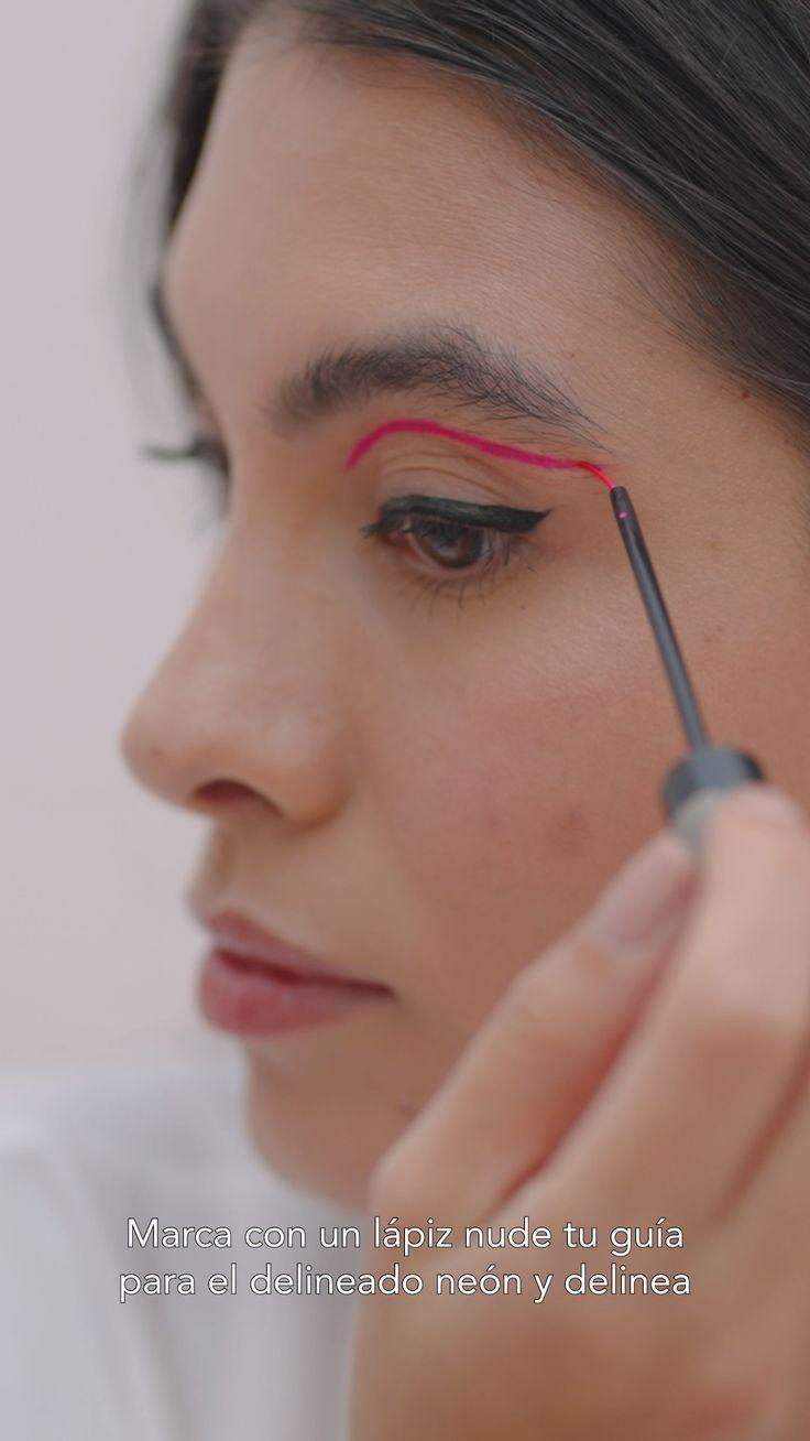 Eyeliner Looks, Eyeliner Tutorial, Pink Eyeshadow, Makeup Essentials, Colorful Makeup, Einstein, Beautiful Things, Make Up, Beauty
