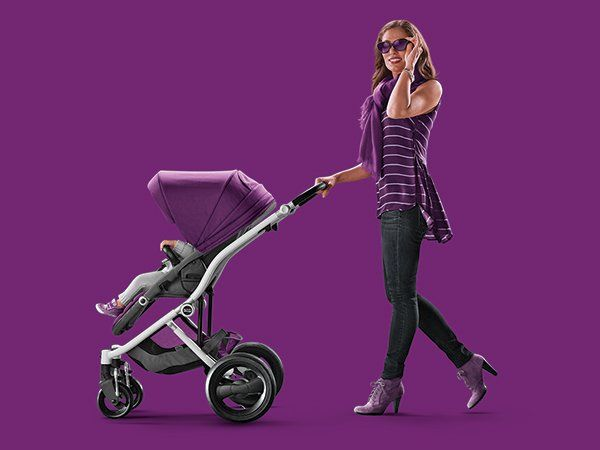 Style your ride your way with Britax Affinity stroller