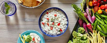 March is finally here, and that means college basketball. Whether your team gets out in the first round or you get to cheer them all the way to the Final Four, we rounded up our most MVP-worthy dips guaranteed to score big with your crowd. So get your brackets and taste buds ready, and let the games begin!  Creamy Smashed Potato Dip  This has all the fixings of a mashed potato in one smash-hit dip.  Ranch-Smothered Hash Brown Dip  Crispy chunks of hash browns and caramelized onions really…