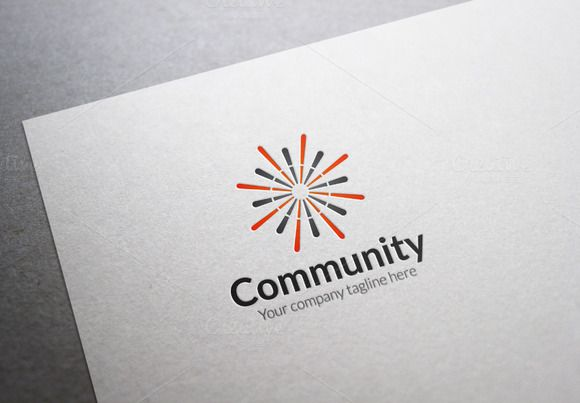 Community Logo by XpertgraphicD on Creative Market