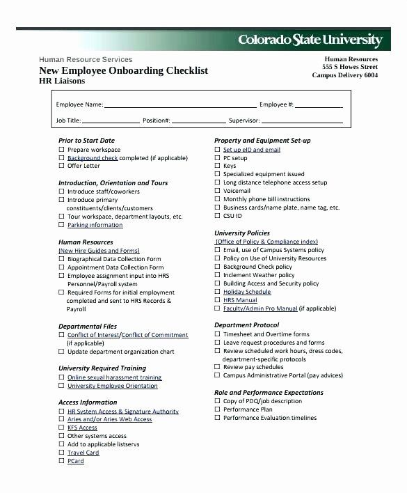 New Hire Form Template Lovely New Hire Forms Template Employment Staff Declaration Form Onboarding Checklist Employee Onboarding Employment Application