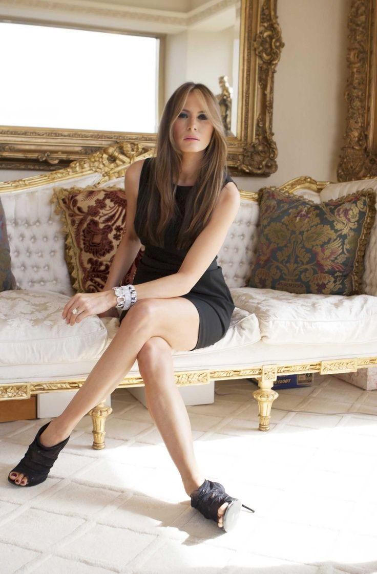 The elegant future First Lady, Melania Trump. She grew up in a crappy apartment in former Yugoslavia before getting into modeling. She seems like a sophisticated and supportive woman.