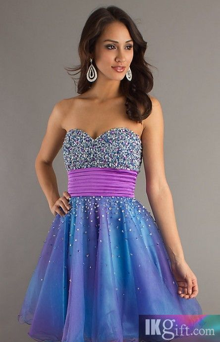 Purple Prom Dresses for Jocks